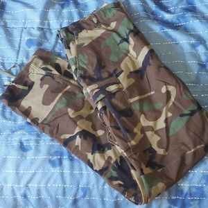 Military Camouflage Pants Size 35-39